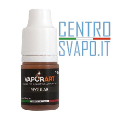 Liquido VaporArt Regular Black Edition 10 ml nicotina 0
