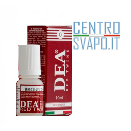 DEA Red Twins 10 ml nicotina 4 mg