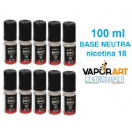 Base Neutra 50/50 VaporArt 100 ml nicotina 18