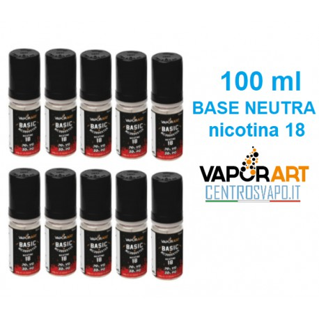 Base Neutra  100ml nicotina 18