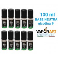 Base Neutra VaporArt 100 ml nicotina 9