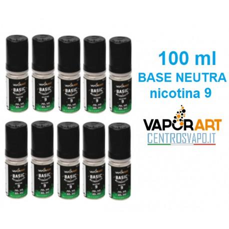 Base Neutra 100 ml nicotina 9