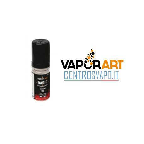 Base Neutra VaporArt 10 ml 50/50 nicotina 18