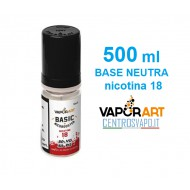 Base Neutra 500 ml nicotina 18 VaporArt