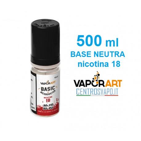 Base Neutra 500 ml nicotina 18 VaporArt