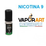 Base Neutra VaporArt 10 ml nicotina 9