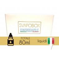 Svapo Box Liquidi Sigaretta elettronica 80 ml