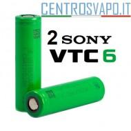 2 Batterie SONY 18650 VTC6 3000 mAh