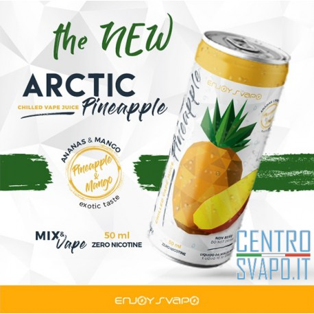 Arctic Pineapple 50 ml Mix & Vape