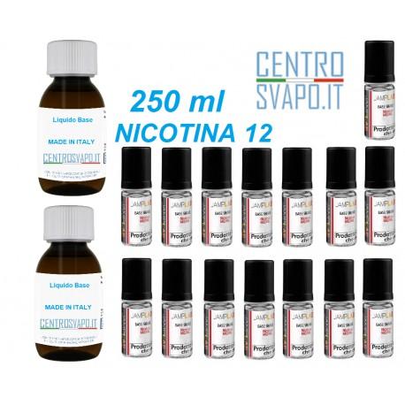 Base Neutra 250 ml nicotina 12