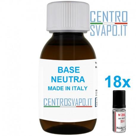 Base Neutra 400 ml nicotina 9