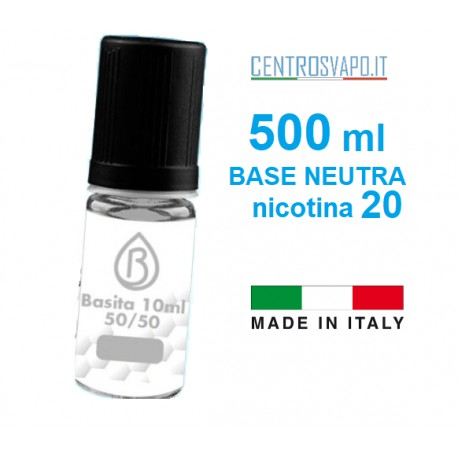 Base Neutra 500 ml nicotina 20
