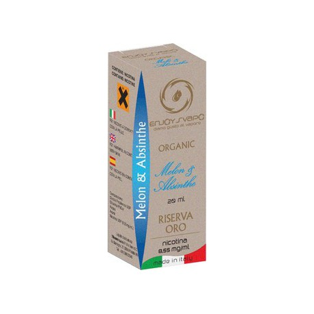 Enjoy Svapo Organic Melon & Absinthe 20 ml nicotina 8.55 mg