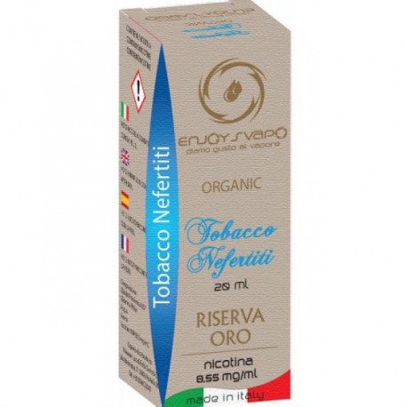 Enjoy Svapo Organic Tabacco Nefertiti 20 ml nicotina 8.55 mg