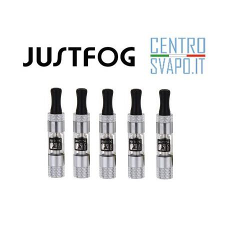 5 Atomizzatori Justfog Maxi ultimate