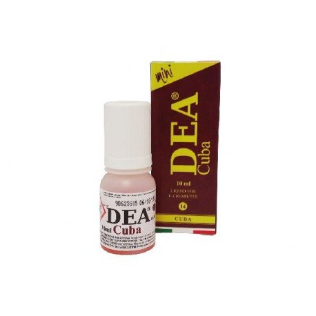 DEA Cuba 10 ml senza nicotina