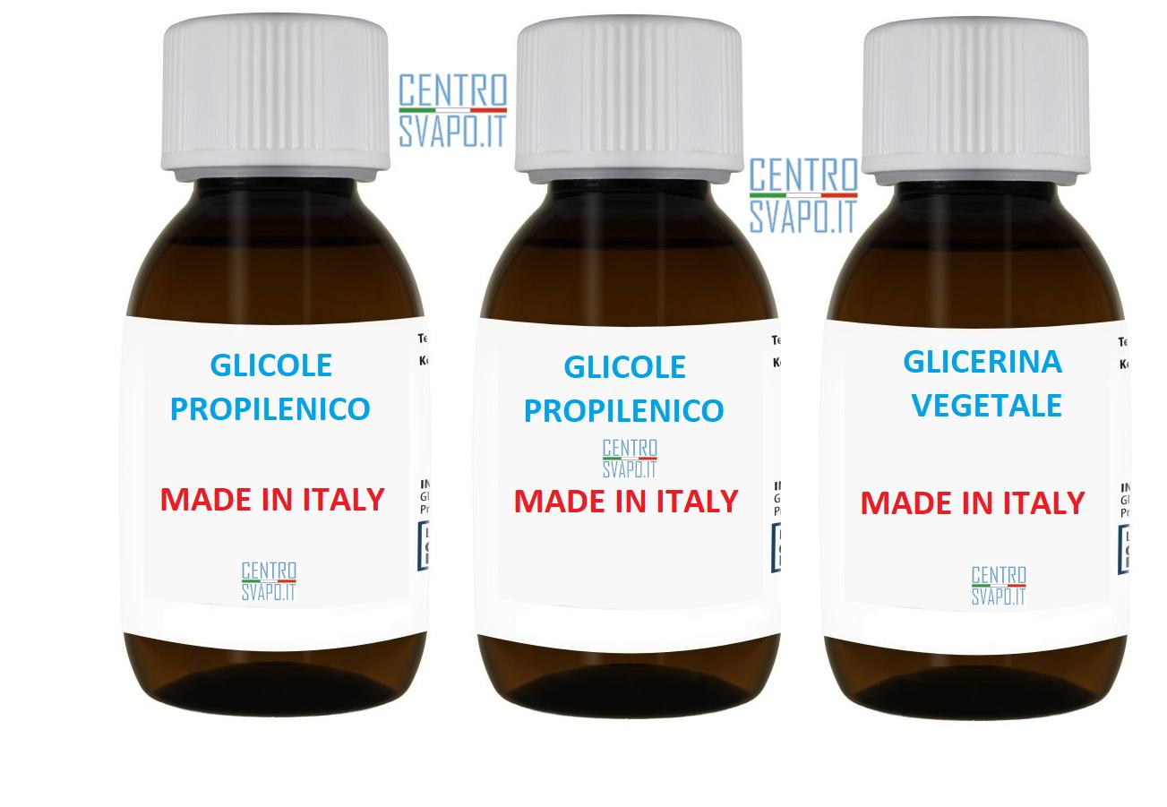glicole e glicerolo